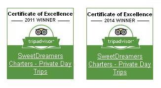 Certificate of Excellence 2011 and 2014