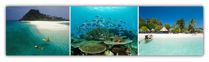 Butang Islands & Adang Archipelago, Thailand