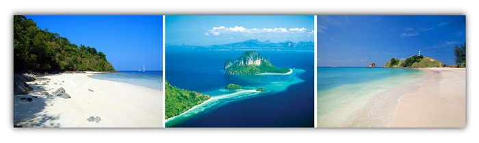 Cruising area: Krabi, Koh Lanta and Rok Nok