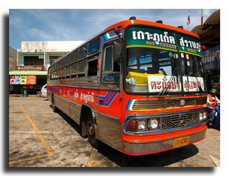 Travelling in Thailand by Bus