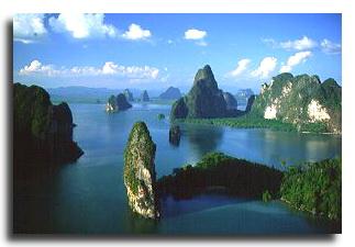 Overnight sailing cruise to Phang Nga Bay