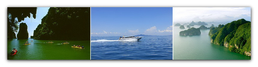 Phang Nga Bay Tour by Speedboat