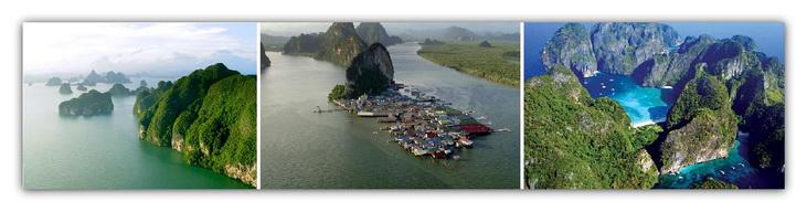 Speed boat charter to Phang Nga and Phi Phi